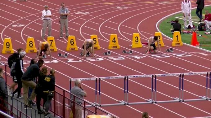 Men's Heptathlon 60m Hurdles, Heat 4