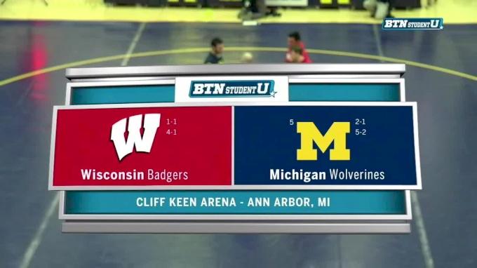 Wisconsin at Michigan Full Dual