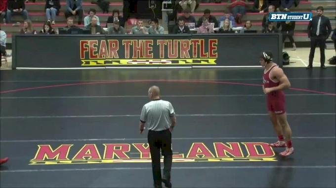 285lbs: Youssif Hemida, Maryland vs Ryan Cloud, Rider