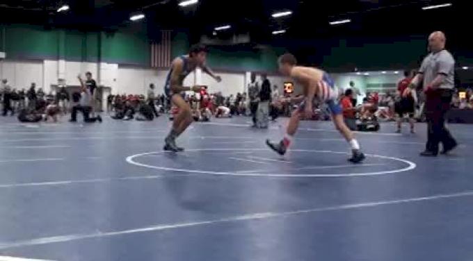 112 lbs round2 Barandon Brunner TN vs. Erick Orellana NY