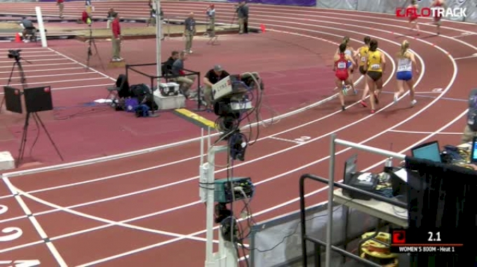 Women's 800m, Heat 1 - Sadi Henderson MW Champs Record 2:04!