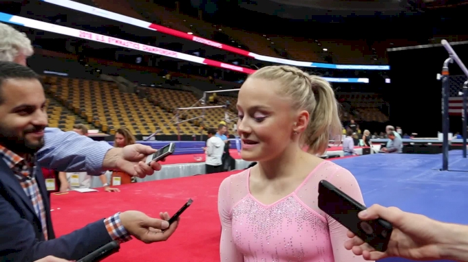 Interview: Riley McCusker - Day 2, 2018 US Championships