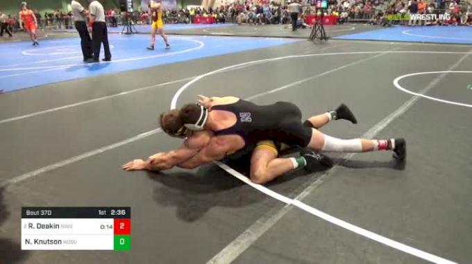 157 lbs Rd Of 16 - Ryan Deakin, Northwestern vs Nick Knutson, North Dakota State