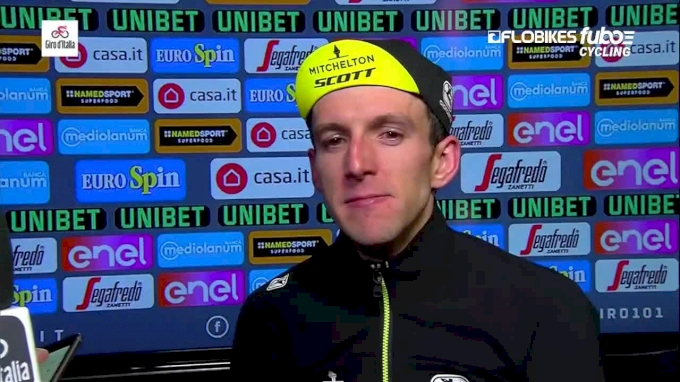 Simon Yates After Stage 15