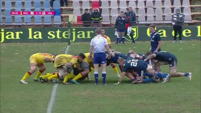 USA Scrum Swamps Romania