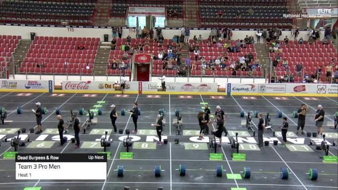 Pro Team III | Dead Burpees & Row | Day 3