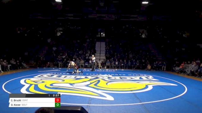 0 lbs C.J Brucki, Central Michigan vs David Kocer, South Dakota State