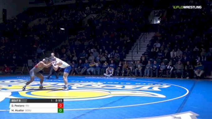 184 lbs Dane Pestano , ISU vs Martin Mueller, SDSU