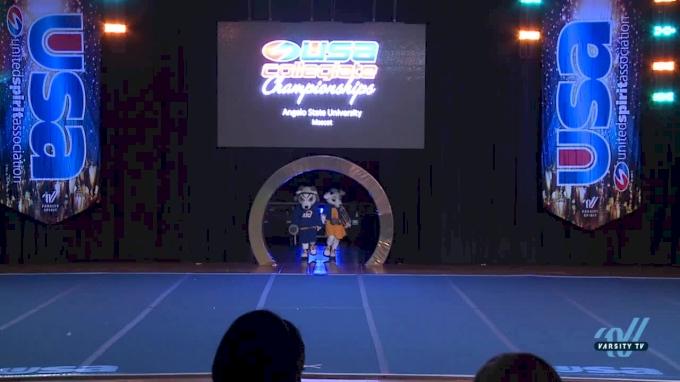 Angelo State University [2018 Mascot Finals ] USA Collegiate Championships