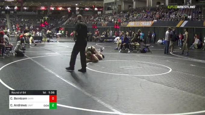 160 lbs Round Of 64 - Chase Beinborn, Sarbacker Wrestling Academy vs Cameron Andrews, Unattached