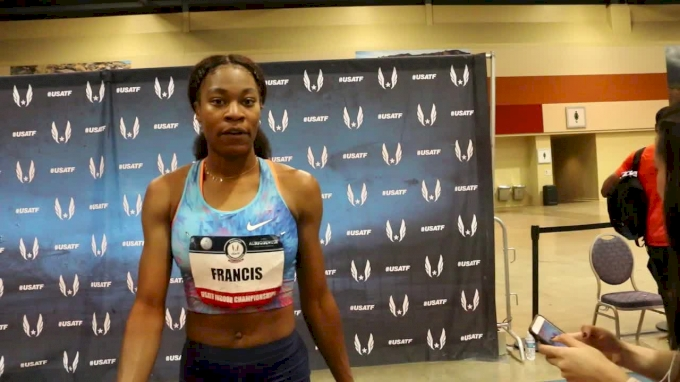 Phyllis Francis takes third at USAs