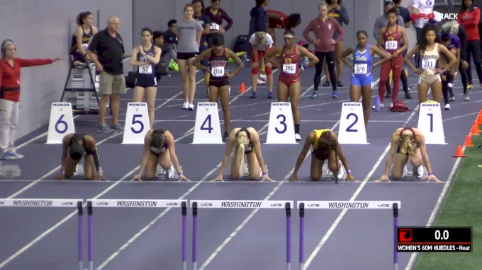 Women's 60m Hurdles, Heat 3
