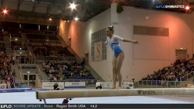 Emma Malabuyo USA - Beam, Senior - 2018 City of Jesolo Trophy