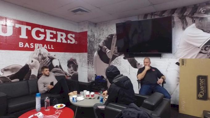 Rutgers Kicking It In Locker Room Before Iowa Dual