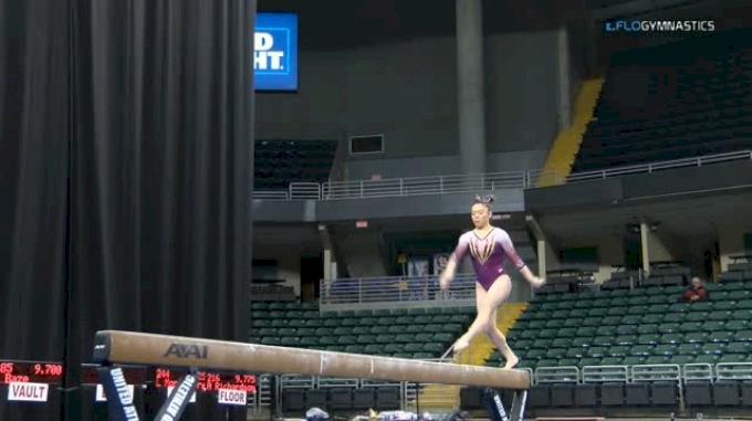 Ivy Lu - Beam 10.0, Minnesota - GymQuarters Invitational (NCAA)
