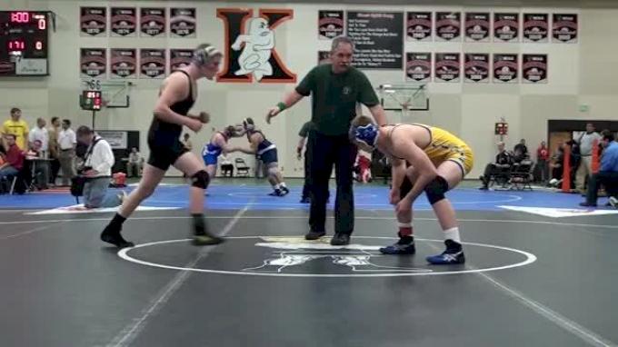 171 lbs semi-finals Addison Knepshield WS vs. Zach Nevills CL
