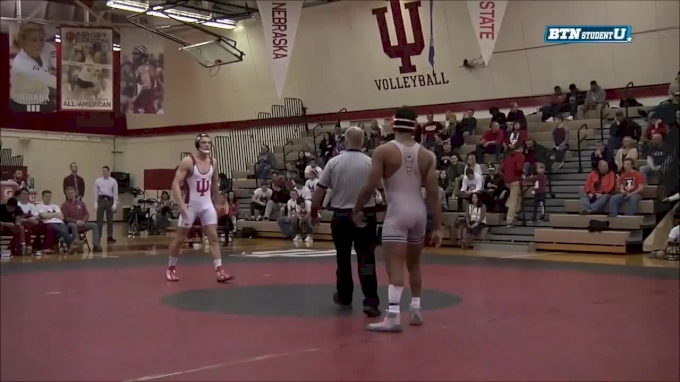 197 lbs m, Andre Lee, Illinois vs Jake Kleimola, Indiana