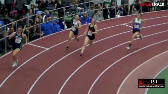 Women's 4x400m Relay, Heat 5