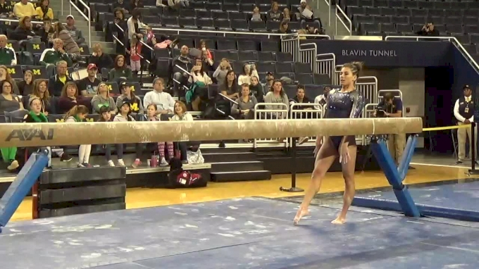 Paige Zaziski- Beam(9675), Michigan- 2017 Michigan vs. EMU Intersquad