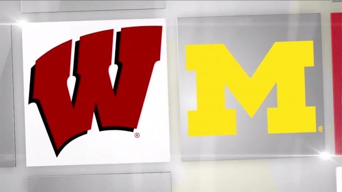 2018 Michigan vs Wisconsin | Big Ten Women's Volleyball
