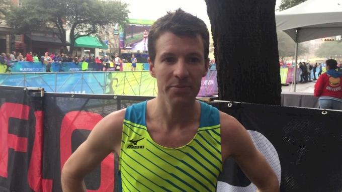 Craig Leon After First Effort Of 2018 For Second Place At Austin Marathon