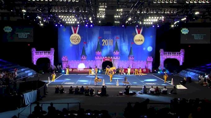Louisiana State University [2018 Cheer Division IA Semis] UCA & UDA College Cheerleading and Dance Team National Championship