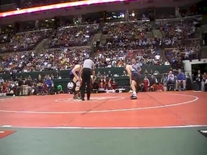 DIII 189 Finals, Alex Utley, Cuy. Falls CVCA vs Kurt Schaefer, W. Salem Northwestern
