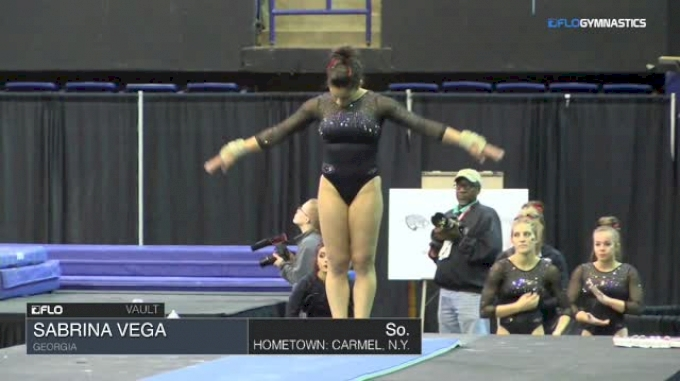 Sabrina Vega - Vault, Georgia - 2018 Elevate the Stage - Augusta (NCAA)