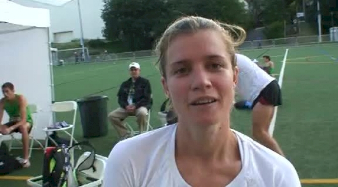 Kim Conley 10th W 5k at the USATF Outdoor Championships 2011