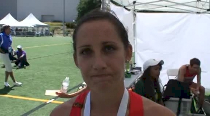 Shannon Rowbury 3rd place in 1500 at the USATF Outdoor Championships 2011