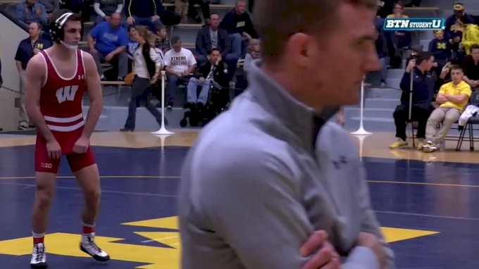 149 lbs, #17 Zander Wick, Wisconsin vs Malik Amine, Michigan
