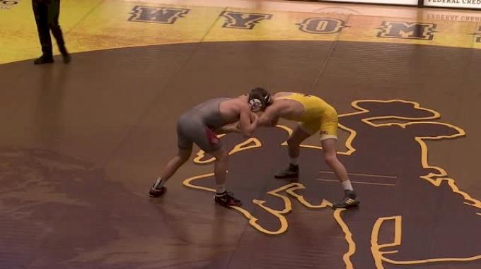 184 lbs Matthew Waddell, Oklahoma vs Chaz Polson, Wyoming