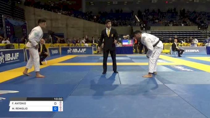 FRANCISCO ANTONIO ITURRALDE LARA vs MICHAEL REMIGLIO LIERA JR. 2018 Pan Jiu-Jitsu IBJJF Championship