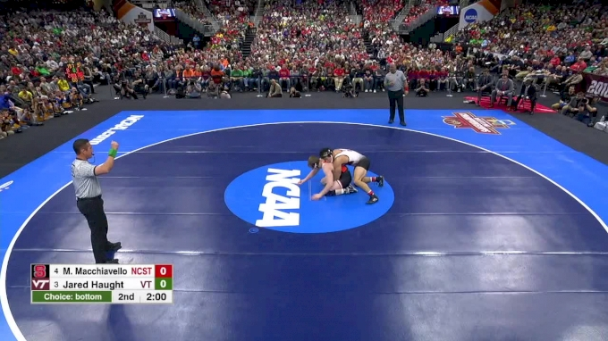 197 lb Final, Jared Haught, VA Tech vs Michael Macchiavello, NC State