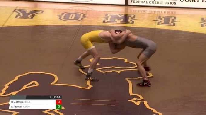 149 lbs Davion Jeffries, Oklahoma vs Sam Turner, Wyoming