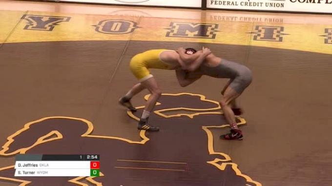 149 lbs Davion Jeffries, Oklahoma vs Sam Turner, Wyoming