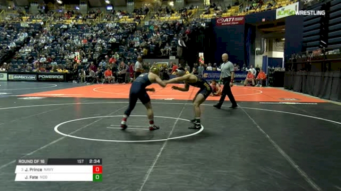 149 lbs Round of 16 - Jared Prince, Navy vs Jimmy Fate, N. Colorado