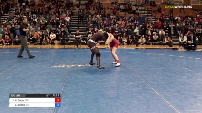 130 lbs Final - Nicole Depa, Simon Fraser University vs Grace Bullen, Campbellsville University W