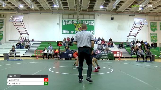 141 Kevin Jack, NC Sate vs Dean Heil, Oklahoma State