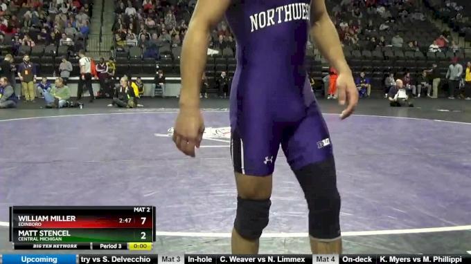125 lbs, Semifinal, Nick Suriano, Rutgers vs Sebastian Rivera, Northwestern