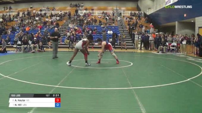 155 lbs Quarterfinal - Anna Naylor, University Of The Cumberlands vs Niauni Hill, Lindenwood Belleville University