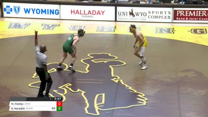141 lbs Matt Findlay, Utah Valley vs Bryce Meredith, Wyoming