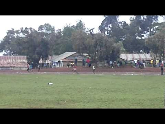 Asbel Kiprop 400m race at Iten District Champs 2011
