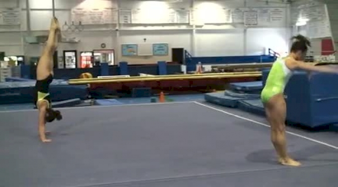 Workout Wednesday: Uneven Bars Complex with Mary Lee Tracy and the CGA Elites
