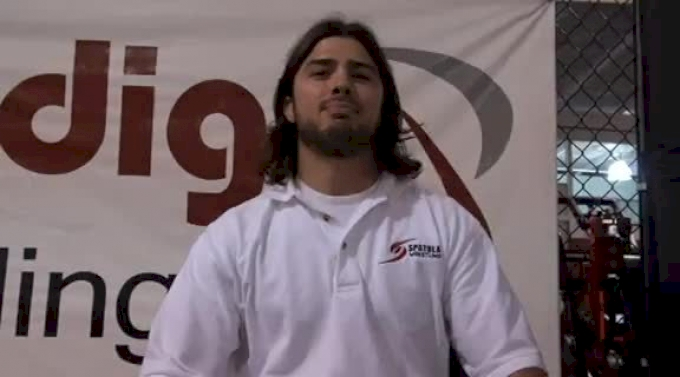 Nick Spatola is full time wrestling