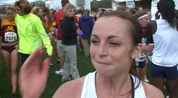 Caitlin Comfort Wisconsin happy with 29th place finish at Wisconsin Invite 2011