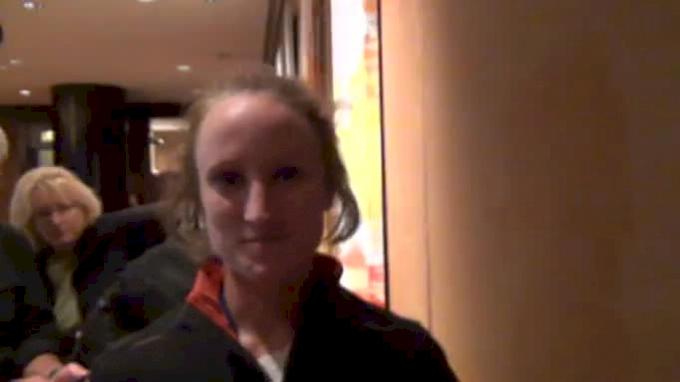 Molly Pritz Top American in debut Marathon Debut ING New York City Marathon 2011