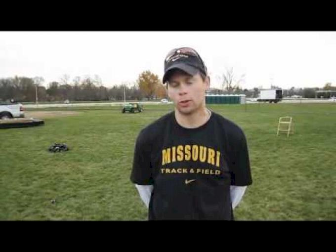 Missouri men's Coach Joe Lynn interview 2011 NCAA DI XC Midwest Regionals