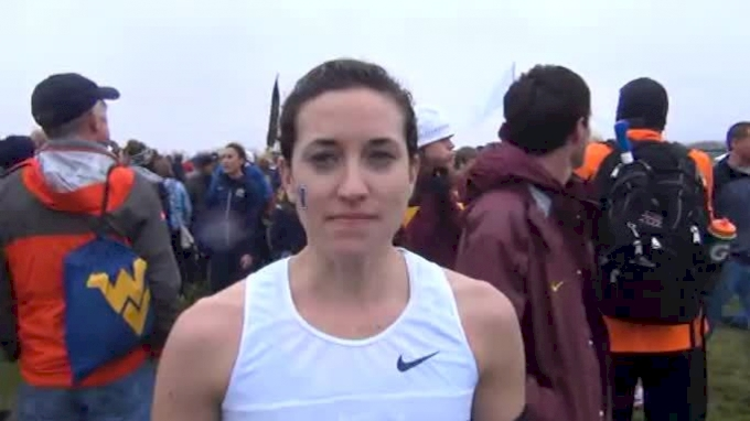 Sheila Reid Villanova 2-time National XC Champion NCAA XC Champs 2011