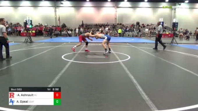 149 lbs Quarters - Anthony Ashnault, Rutgers vs Alec Opsal, Air Force